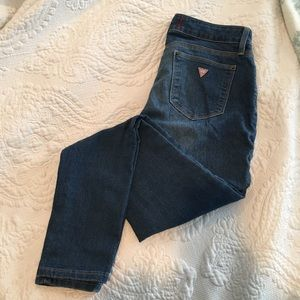 GUESS Medium Wash Jeans- Size 27